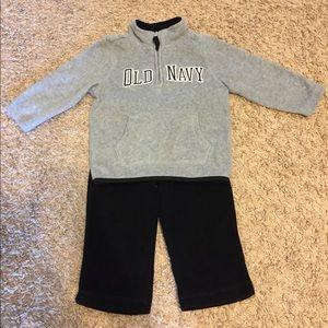Old Navy Fleece Set 🌟Size 18-24 Month🌟